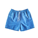 Blue swimming shorts