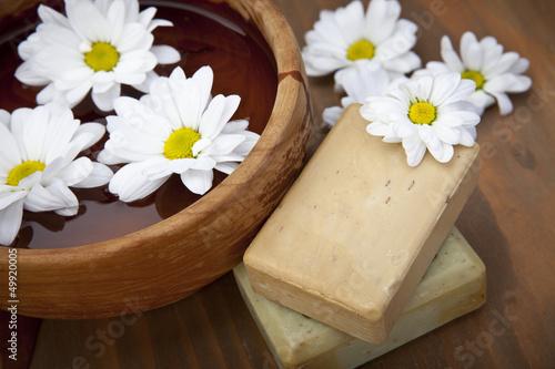 Fresh spa soap