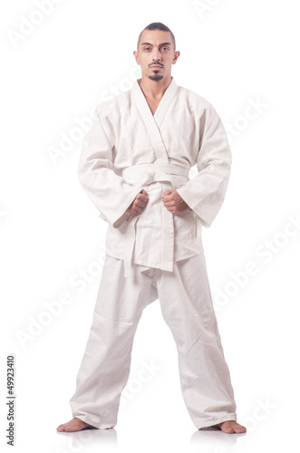 Karate martial arts fighter