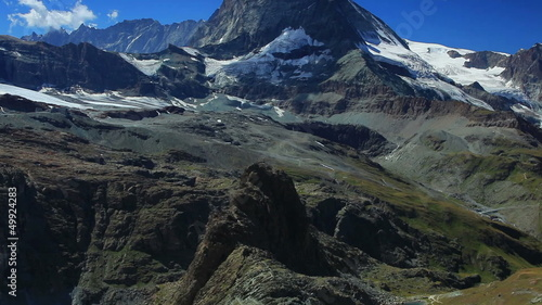 Matterhorn mountain panorama.
