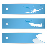 Air traffic banners