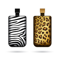Cases for cell phone with animal print