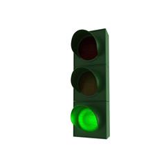 Ampel - grün - 2