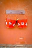 Two fire buckets - 49926409