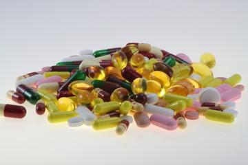 monton de pastillas