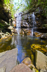 Waterfall in Chapada Diamantina - Brasil
