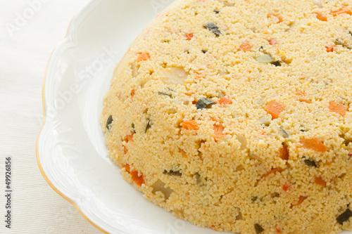 Couscous cake
