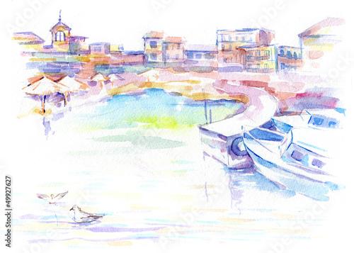 city dock - 49927627