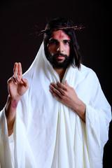 Jesus Gesturing