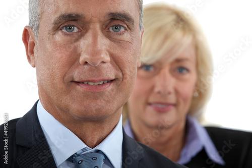 Mature businesspartners