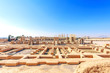 Panoramic view of  Achaemenid Palace in Persepolis, Iran