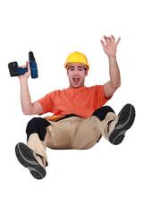 Carpenter falling