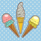 Ice cream. Vector illustration