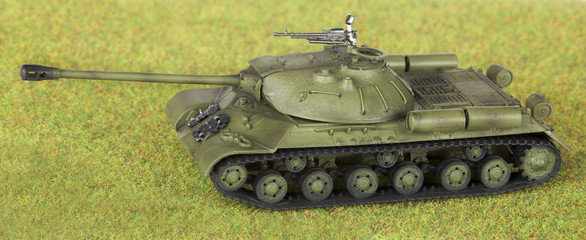 plastic model of soviet heavy tank