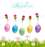 Fototapety Happy Easter decoration