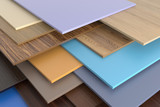 Warehouse chipboard. poster