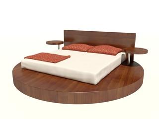 Modernes Bett 6