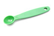 Green measuring spoon