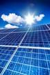 Leinwanddruck Bild - Solar Cells
