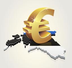 L'Euro en Estonie (reflet)