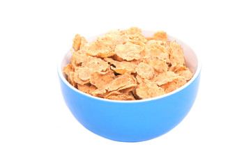 Corn Flakes Isolated on a white background