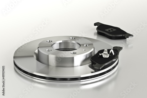 disco freno con pastiglie - 49939405