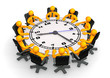 Clock Conference Table