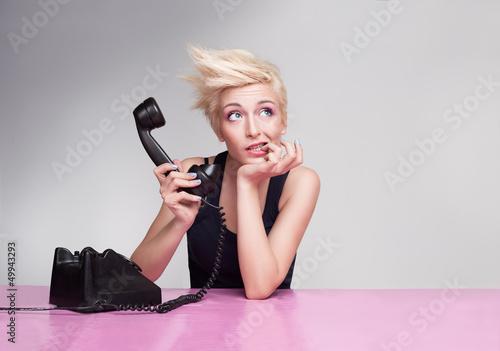 biting phone