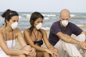 Epidemie während Urlaub