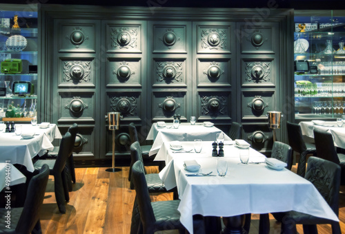 decorative restaurant wall
