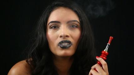 smoking sisha