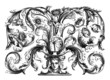 Goldsmith Pattern - Motif d'Orfevrerie - begining 18th century