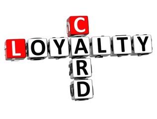 3D Card Loyalty Crossword