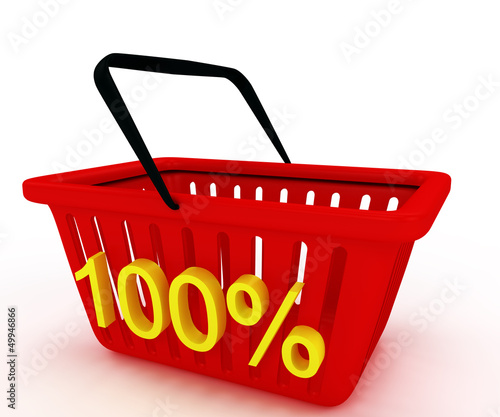 shopping basket with writing on it discount 100%