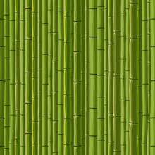 Seamless fond de mur de bambou vert.