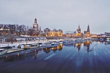 Dresden im Winter