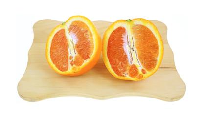 Cara Cara Navel Orange Sliced