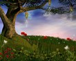 Enchanted nature series - Enchanted evening hill