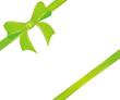 Schleife in grün
