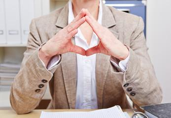 Körpersprache im Büro