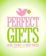 Perfect gifts design template