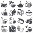 Icons set: Food and Drink