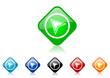 navigation vector icon set