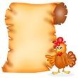 pergamena gallina