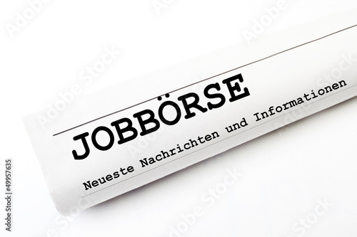 Jobbörse Zeitung