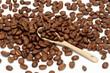 Kawa z łyżeczką