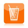 Soda or lemonade icon