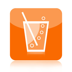 Soda or lemonade icon