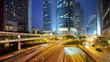 Hong Kong at International Financial Center Time Lapse
