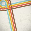 retro abstract background with stripes